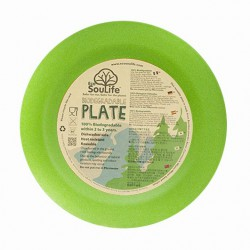Plato 20 cm. Bambú 100% Biodegradable