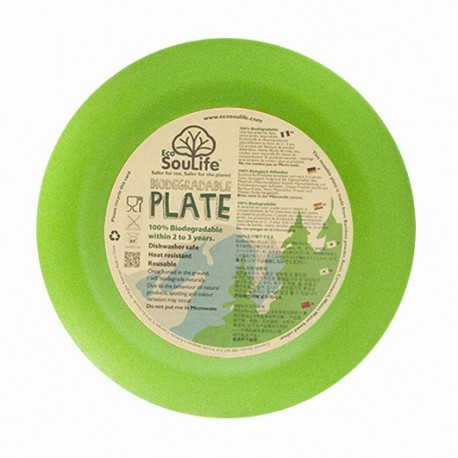 Plato 20 cm. Bambú 100% Biodegradable
