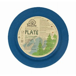 Plato 25 cm. Bambú 100% Biodegradable