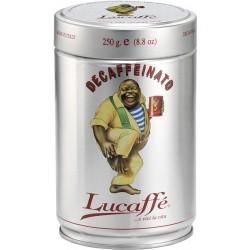 Lata 250gr descaffeinato molido Lucaffe
