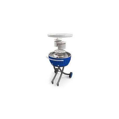 Barbacoa XXL LOTUSGRILL azul